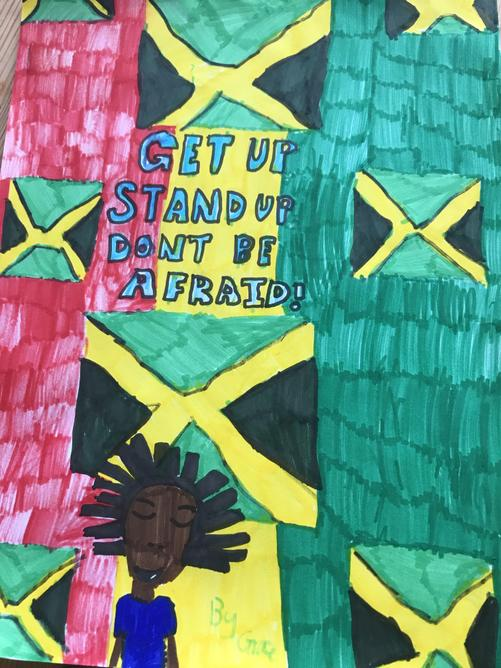 Amazing 'Rights' poster made by Grace Taylor.