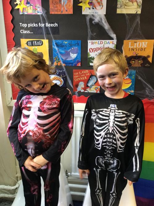 Creepy skeletons
