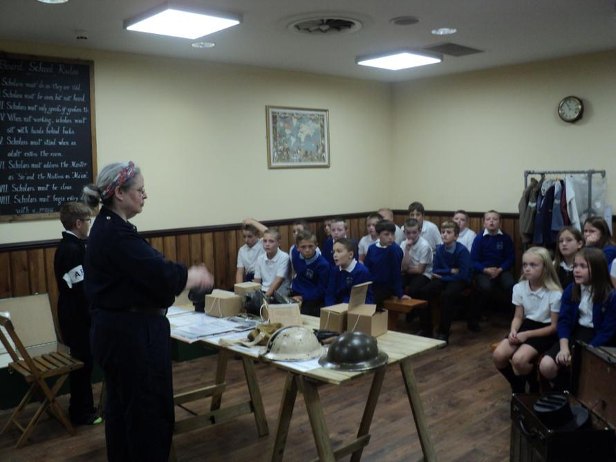 Children learned about the role of the ARPs