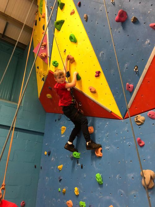 Jaidon was a superstar climber!