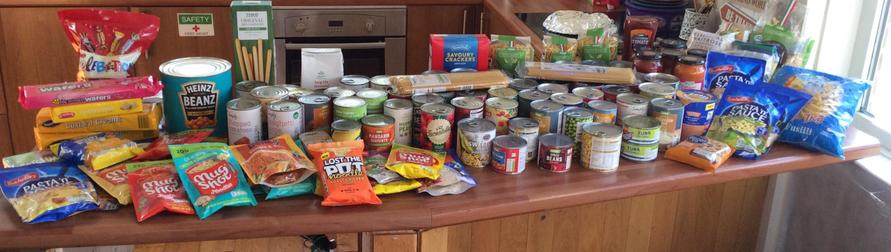 THANK YOU parents/carers for your incredible food donations!