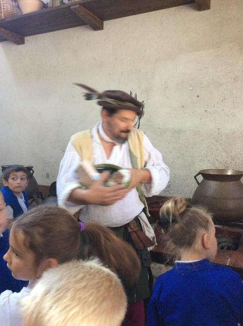 What food was eaten in the Tudor times?