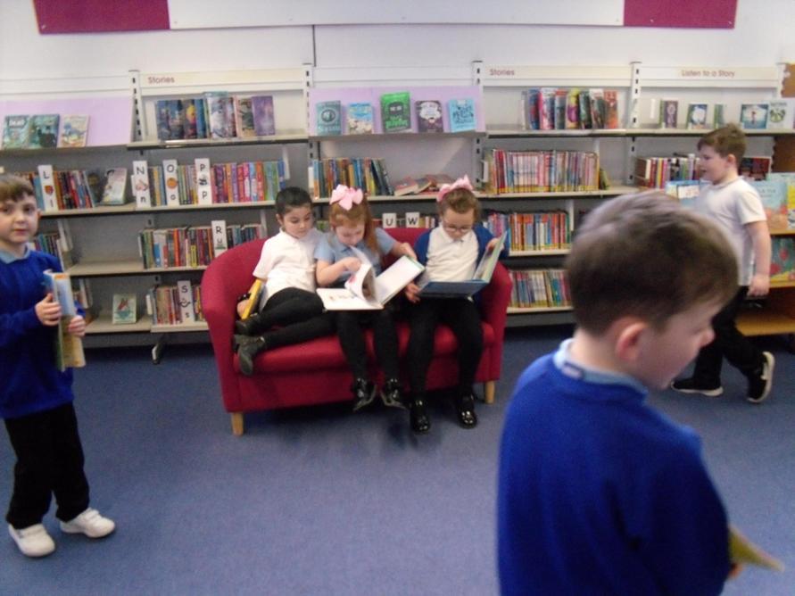 We loved reading together.