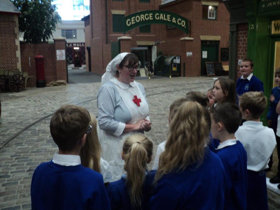 Nurse Philpott told us about the role of nurses