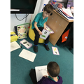 We love playing teachers and using their resources