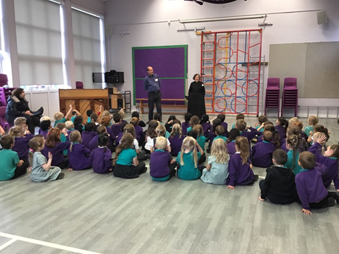 A wonderful singing assembly in KS1!