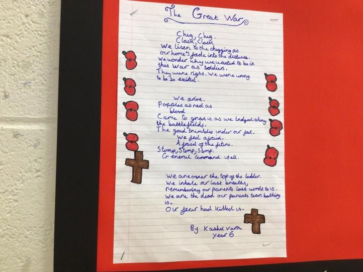 Have a look at some of the free verse poetry we have created.