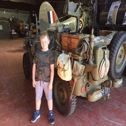 Finlay visited a museum