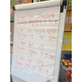 The class rhyming poem.