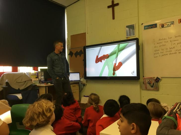 We learnt how to use software to find stress point
