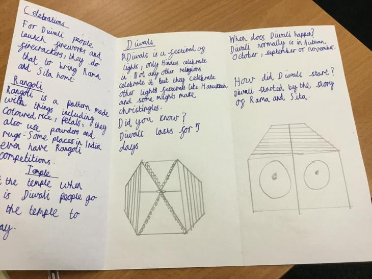 My leaflet and pattern.