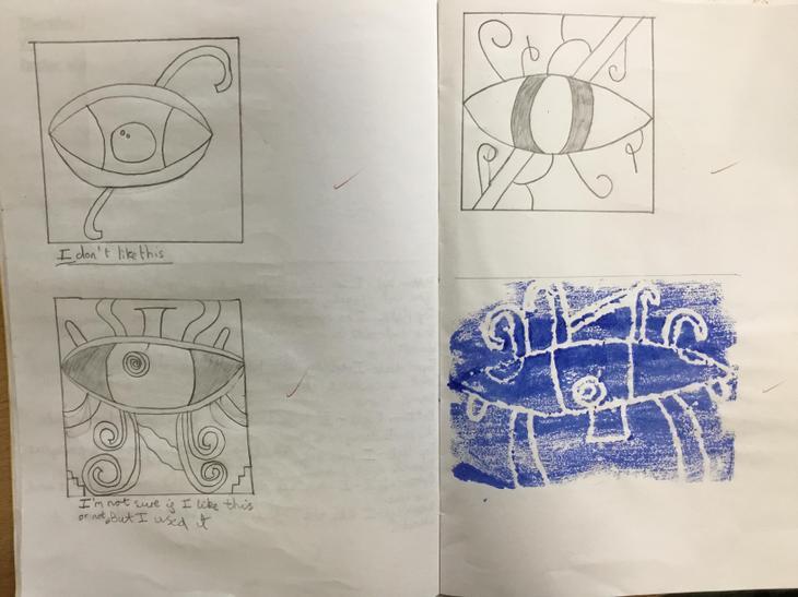 Various design sketches