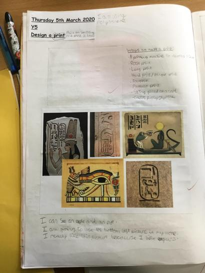 Researching images in Egyptian art
