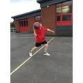 Shoulder pass in netball
