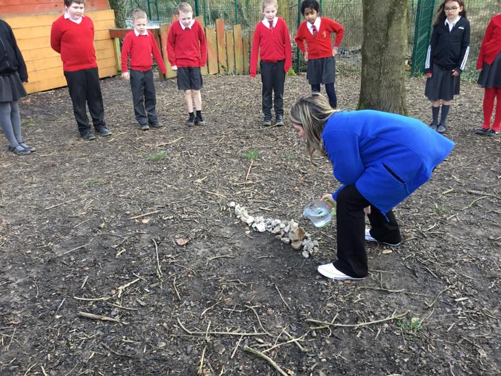 We constructed our own mountain range to investigate runoff.