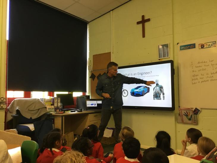 We learnt what an engineer is and does