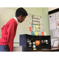 Hamza's model solar system
