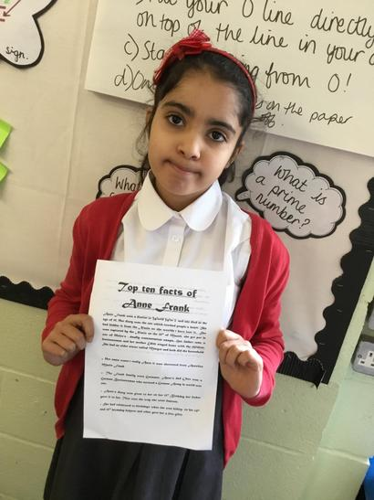 I was enthused by Anne Frank's story - Nishka