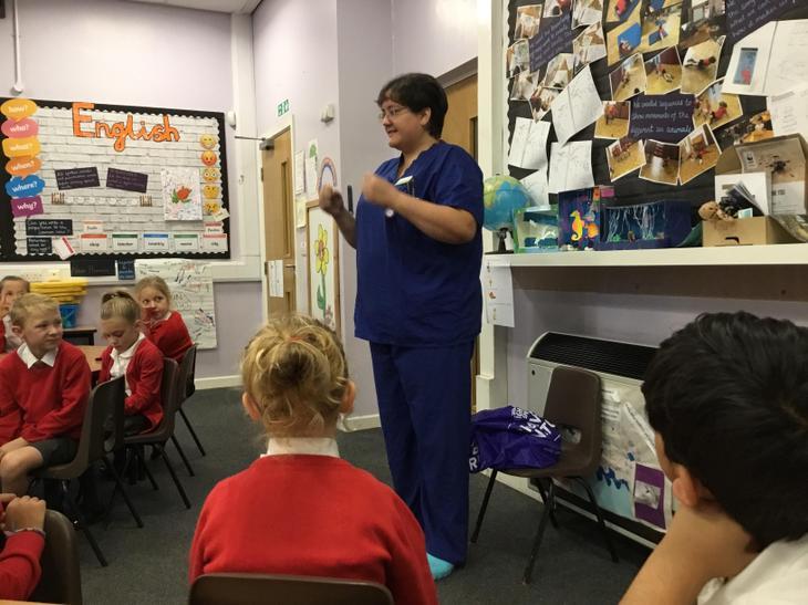 Clara's mum is also a nurse