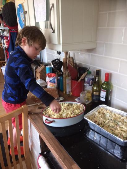 Finlay cooking tea