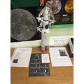 Hand made model of Apollo 11