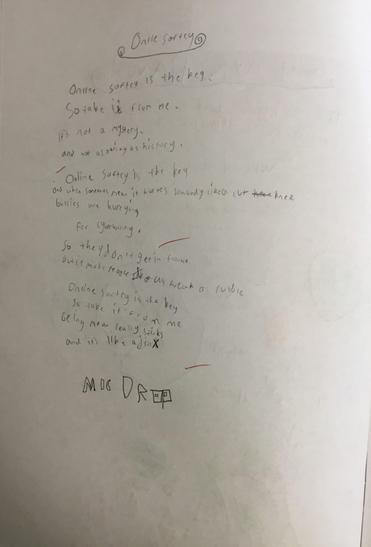 A rap to help recall safety points.
