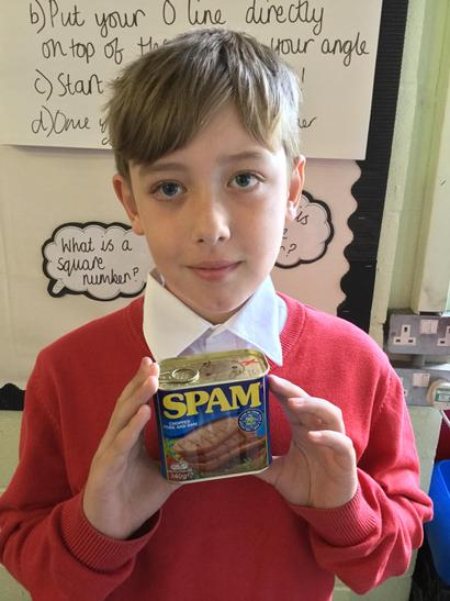 I researched WW2 foods - Cason