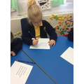 Finding the tricky words.