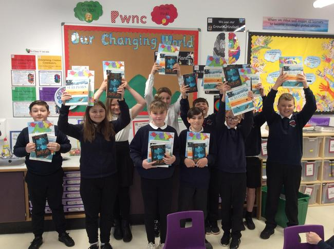 Books Trust Cymru booked, Welsh Government funded.