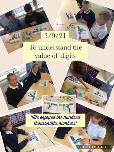 Autumn 1 Maths - Practical place value