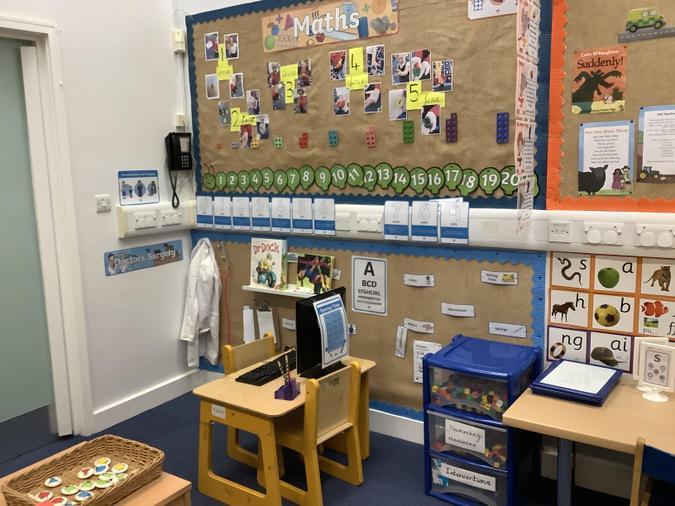 St Francis classroom