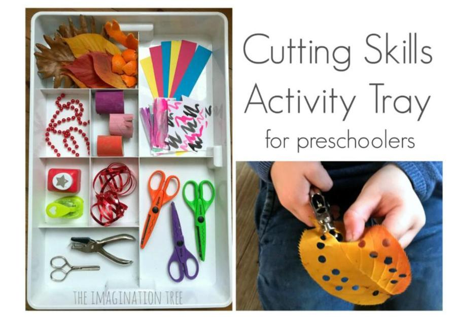 https://theimaginationtree.com/fine-motor-skills-cutting-tray/