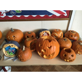 Well done to all who carved a pumpkin!