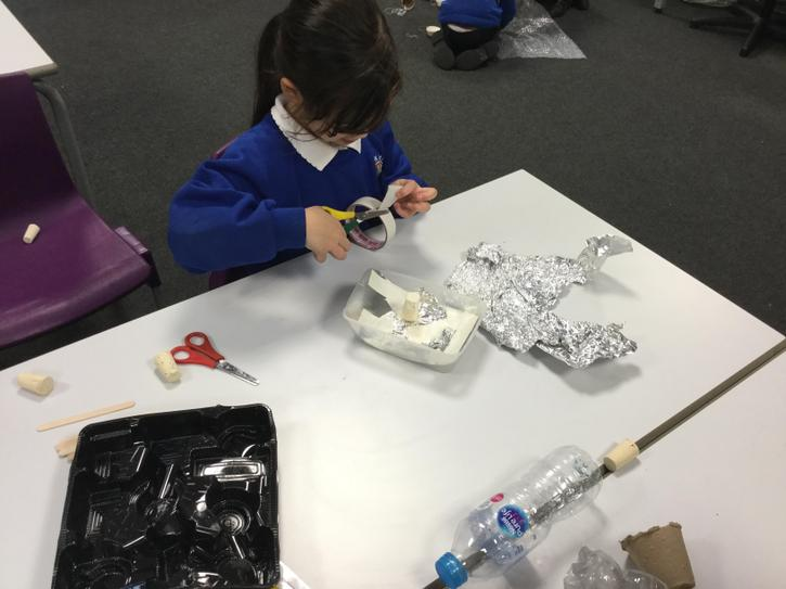 We thought carefully about the materials we used.