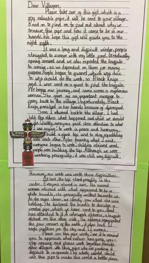 Tahirah's letter