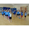 We enjoyed our Bollywood dance lesson!