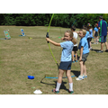 We had fun at our archery lesson!