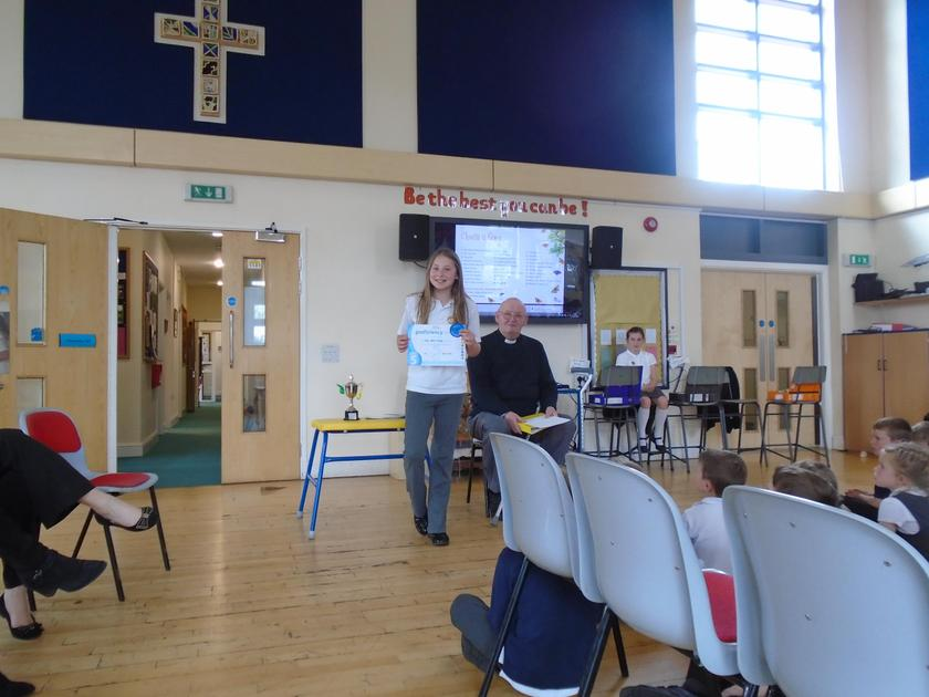 Elle Wells-Wragg - Gym Award, Retford Gym Club