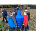 On a learning walk outside in Science