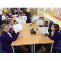 Place value work in Maths