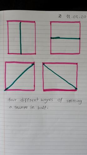 Maths- Finding halves by Nusaibah, Bulu