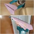 Making a paper plane!