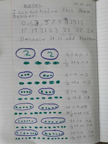 Maths- Division by Nusaibah, Bulu