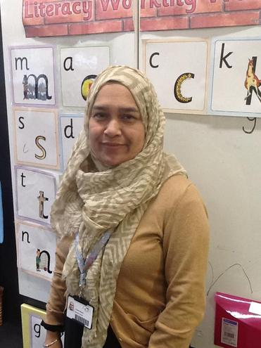 Mrs Begum Nursery Nurse White Nursery
