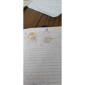 drawing and name writing