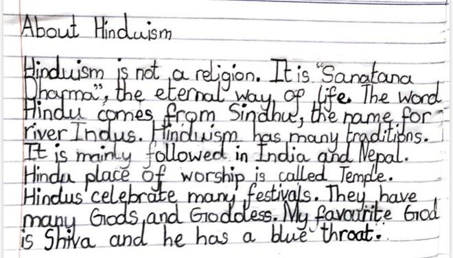 RE- Hinduism by Ahana, Azul