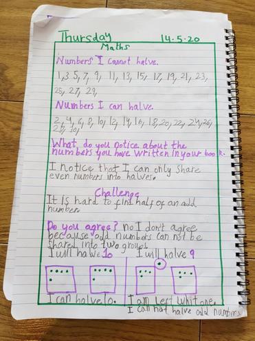 Maths- Sharing equally by Fatima, Bulu