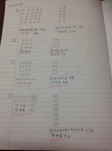 Maths-making arrays by Prisha Bulu