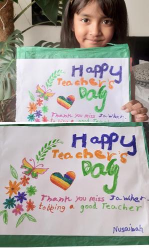 Happy Teacher's Day by Nusaibah, Bulu