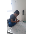 Writing a list of words
